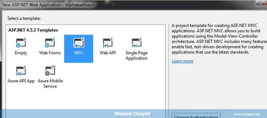 select asp.net mvc