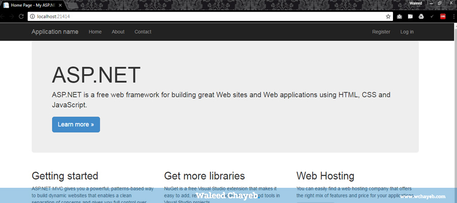 debugging asp.net mvc website