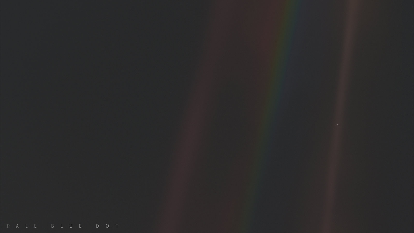 Pale Blue Dot - Carl Sagan