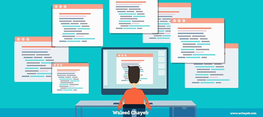 تعلم برمجة مواقع الانترنت باحتراف
