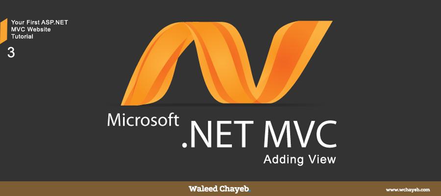 ASP.NET MVC Add View