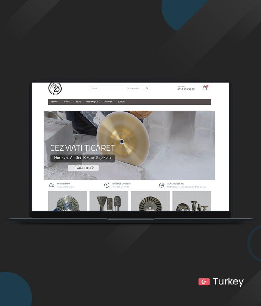 Cezmati Online Store